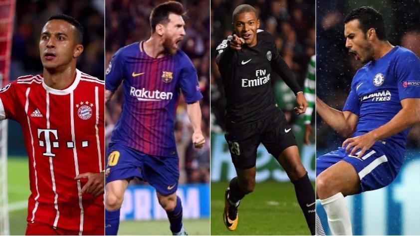Champions League 2017/18: resultados de la primera jornada de fase de grupos