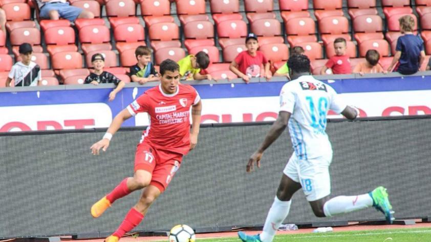 Alexander Succar anota su primer gol en la liga Suiza y salva al Sion del descenso