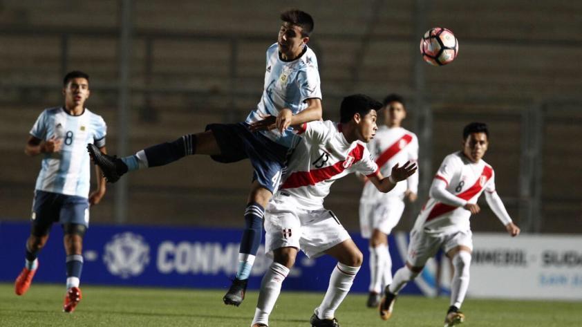 Sudamericano Sub 15: la bicolor no pudo ante Argentina y le dijo adiós al torneo