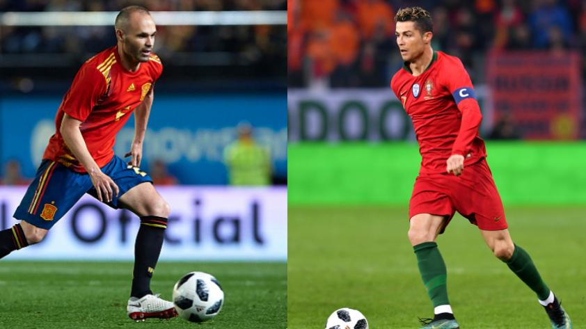 España vs. Portugal: fecha, hora y canal del partido de Rusia 2018