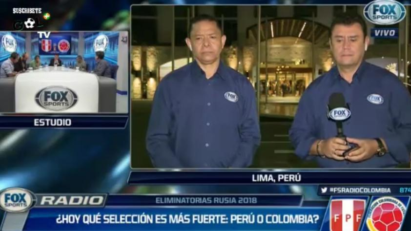 (VIDEO) Periodistas colombianos: ¿Qué selección llega más fuerte: Perú o Colombia?