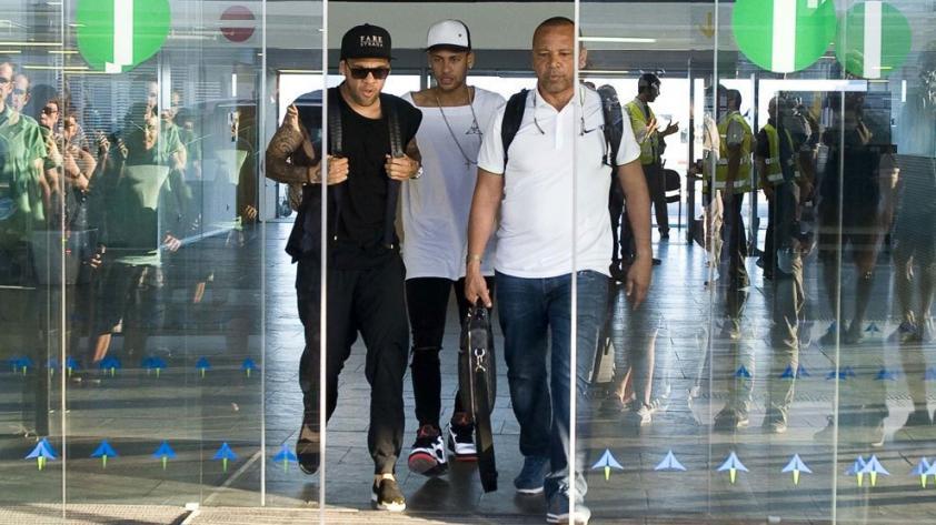 ¿Dónde está Neymar?