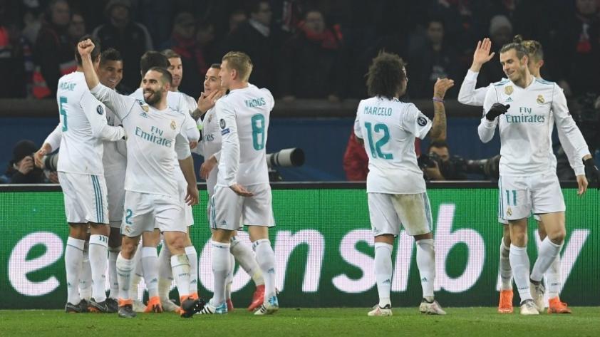 ¡Real Madrid venció 2-1 al PSG en París y clasificó a cuartos de final en la Champions League!