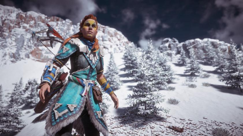 Horizon Zero Dawn Parche 1.30 Agrega New Game+, Opciones de Pintura Facial y más