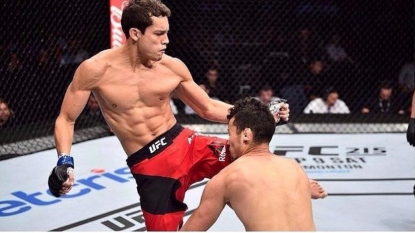 ¡Peruano Humberto Bandenay debutó en la UFC con nocaut a Martín Bravo en 26 segundos!