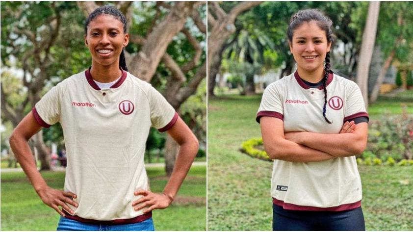 Universitario: Fabiola Herrera y Nahomi Martínez reforzarán al equipo 'crema'