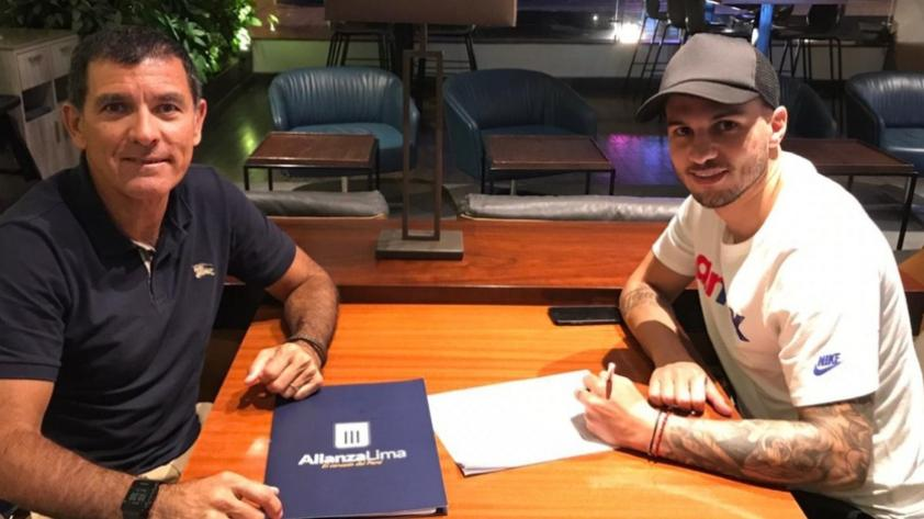 Oficial: Alianza Lima presentó al uruguayo Felipe Rodríguez como nuevo refuerzo