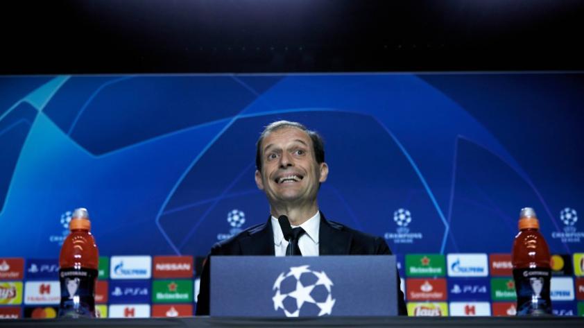 Juventus: Massimiliano Allegri calienta el partido de vuelta ante el Atlético de Madrid por los octavos de final de la Champions League