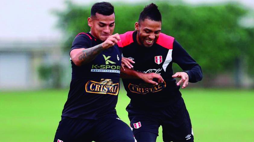 Perú entrenó por última vez antes del duelo frente a Jamaica