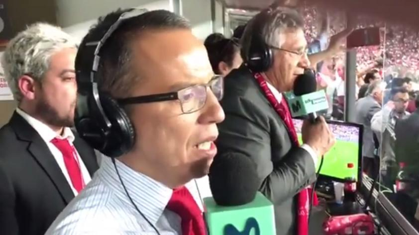 (VIDEO) ¡Perú al repechaje!: Mira los minutos finales de la narración de Daniel Peredo
