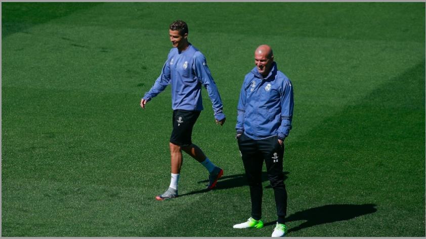 Zidane sobre Cristiano Ronaldo: