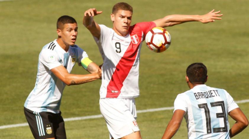 ¡A seguir luchando! Perú cayó 1-0 con Argentina por el Sudamericano Sub 20