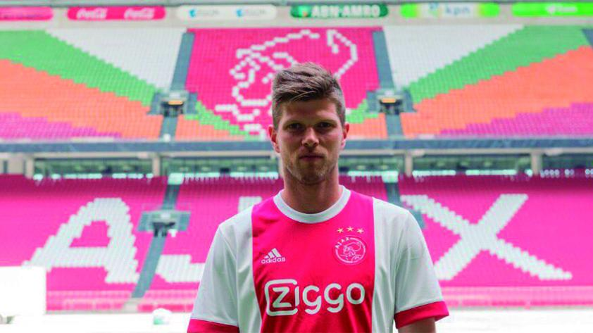 Klaas Jan Huntelaar regresó al Ajax