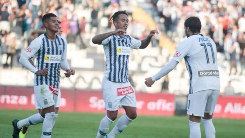 ¡Triunfo 'blanquiazul'! Alianza Lima ganó por 2-0 a Ayacucho FC en el torneo clausura