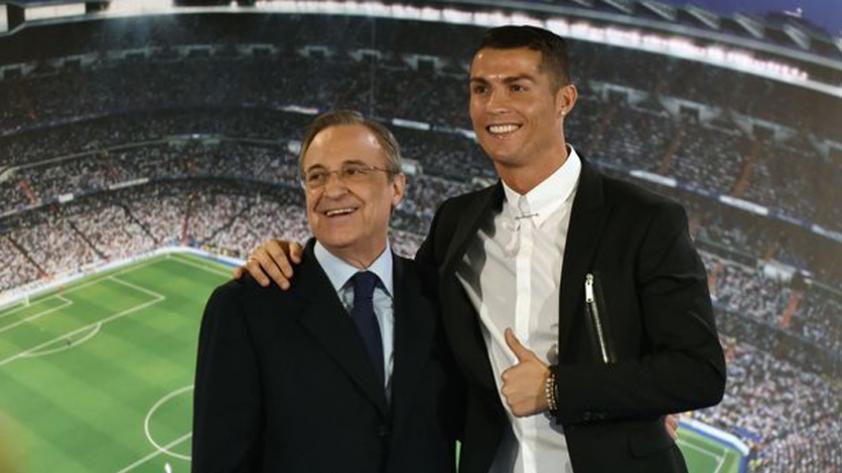 Cristiano Ronaldo se reunirá con Florentino Pérez