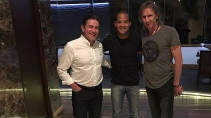 Selección Peruana: Ricardo Gareca se reunió con Alberto Rodríguez en Colombia