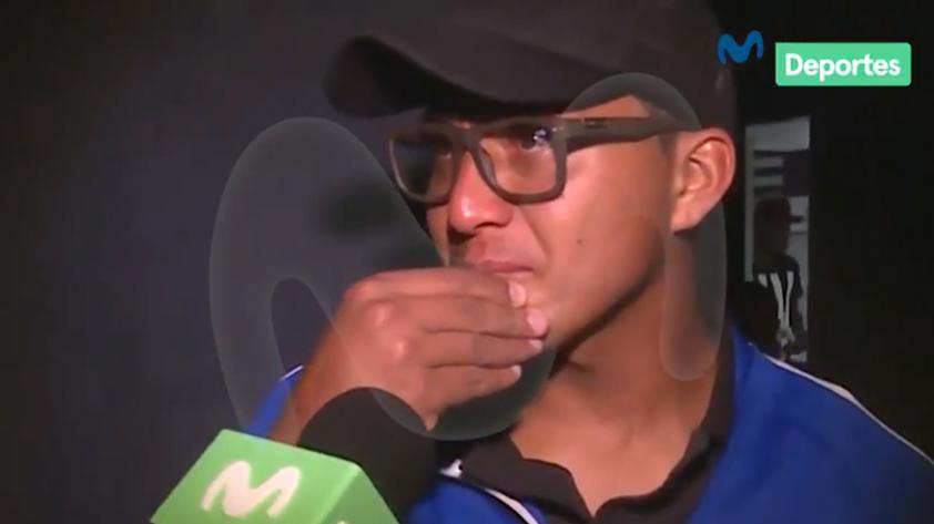 (VIDEO) Alianza Lima: Rinaldo Cruzado rompió en lágrimas ante palabras de su menor hijo