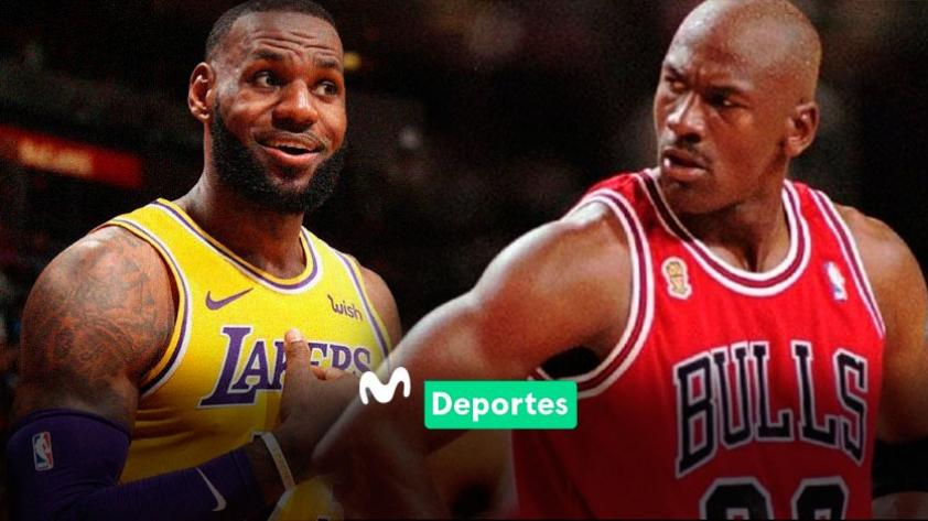 Las lágrimas del rey: LeBron James superó a Michael Jordan en la tabla histórica de anotadores de la NBA (VIDEOS)