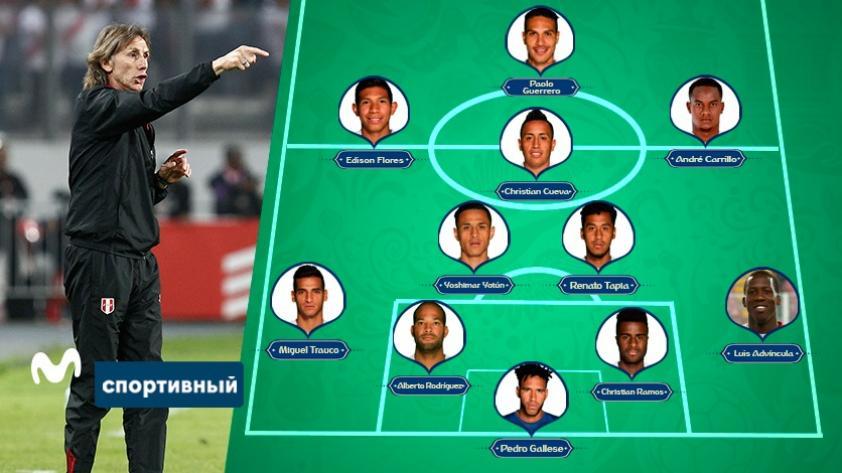 Juguemos a ser Ricardo Gareca: ¿qué once de Perú pondrías ante Suecia?