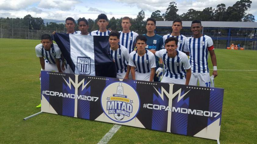 Alianza Lima sub 18 venció a Xolos de Tijuana en la Copa Mitad del Mundo