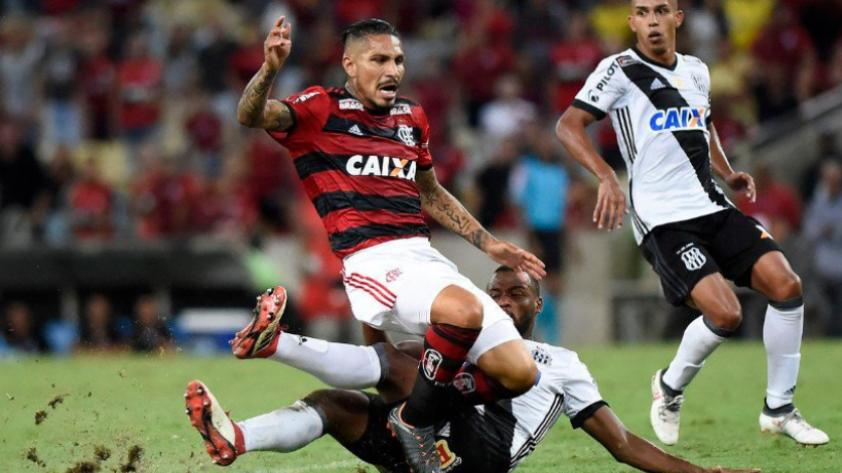 Paolo Guerrero volvió a tener minutos con Flamengo en la Copa de Brasil