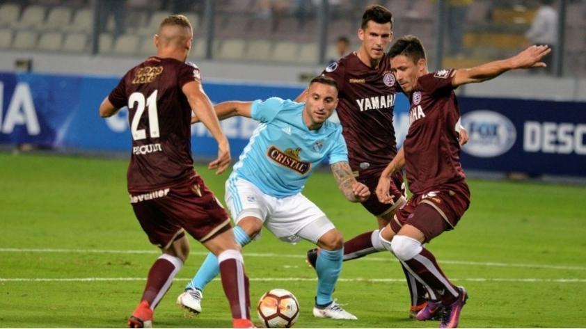 Sporting Cristal venció 2-1 a Lanús, pero se quedó fuera de la Copa Sudamericana