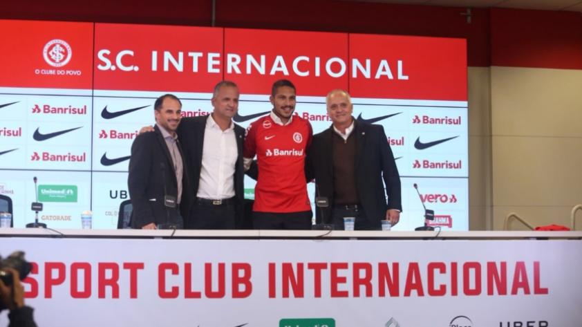 Paolo Guerrero en el Inter de Porto Alegre: