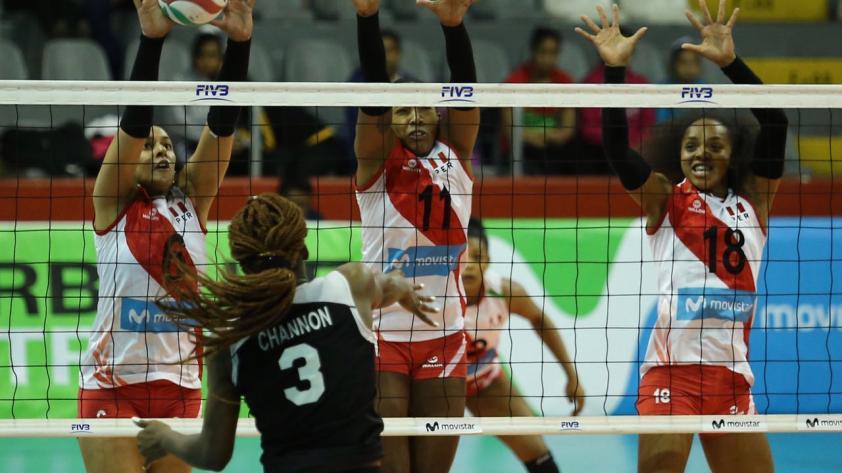 Perú va con todo ante Canadá en Copa Panamericana de Vóley