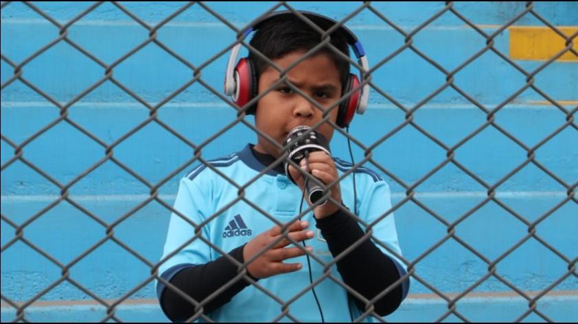 El pequeño hincha de Sporting Cristal que se 'convirtió' en viral por narrar el triunfo ante Ayacucho (VIDEO)