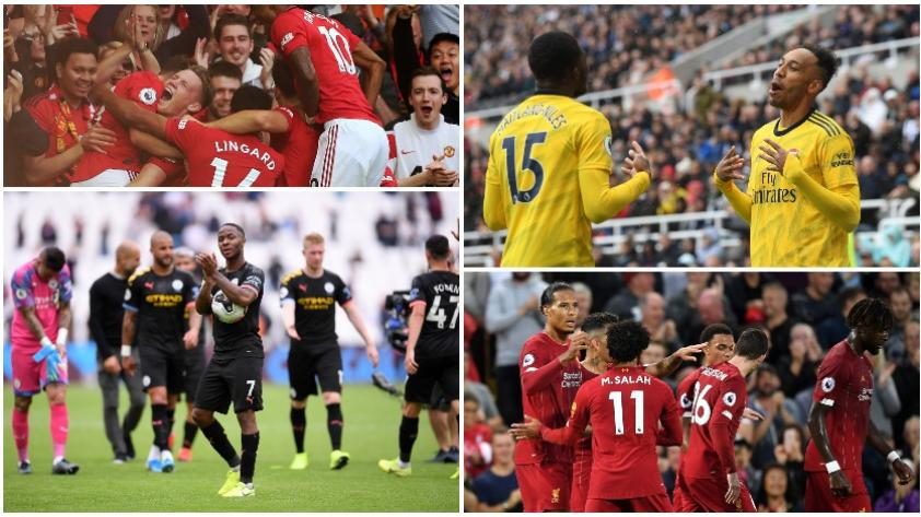 ¡Comenzó el fútbol! La Premier League abrió la jornada del fútbol europeo de primer nivel