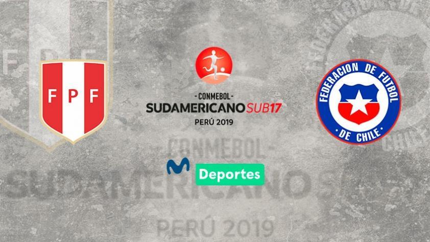 Perú vs. Chile: fecha, hora y canal del debut de la 'blanquirroja' por el Sudamericano Sub 17