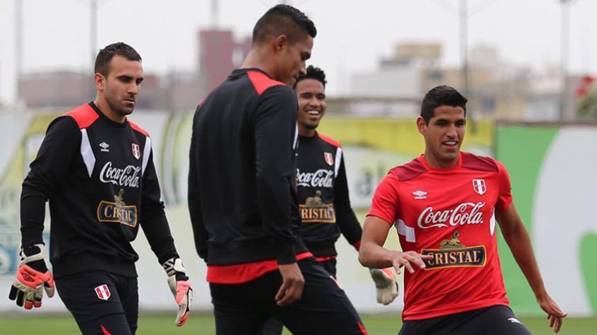 Selección Peruana: la bicolor cumple su quinto día de entrenamientos