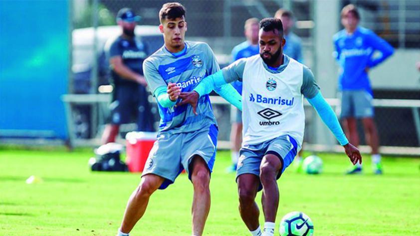 'Beto' da Silva volvió a las prácticas con Gremio