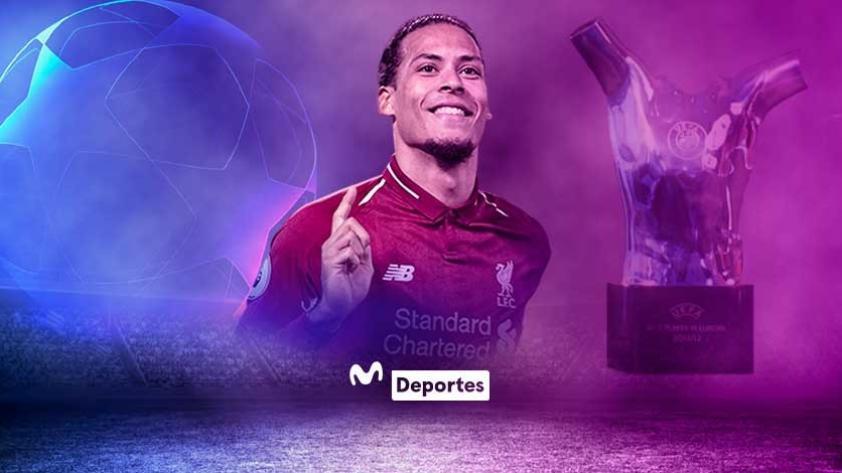 Virgil Van Dijk, mejor jugador de la temporada 2018/2019 para la UEFA