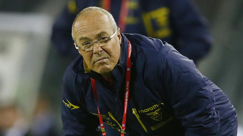 """Jorge Célico, entrenador de Ecuador: """"Nos despediremos con orgullo ganándole a Argentina"""""""
