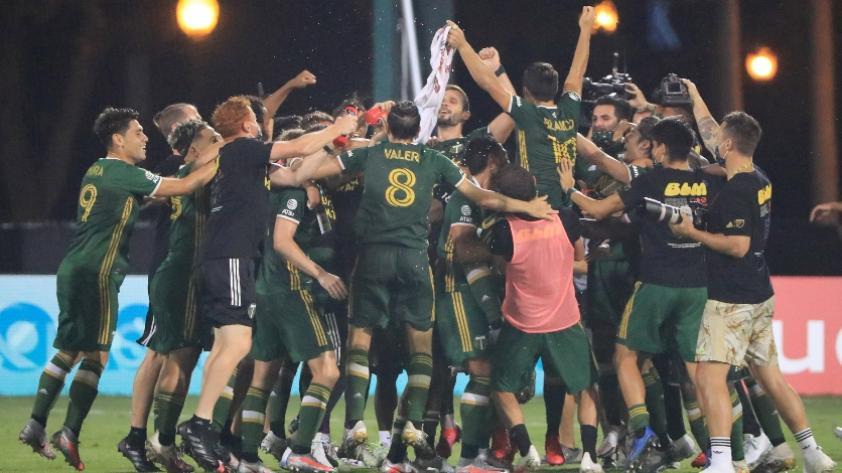 ¡Portland Timbers campeón de la MLS Is Back! El equipo de Andy Polo derrotó 2-1 al Orlando City de Pedro Gallese en la final del torneo