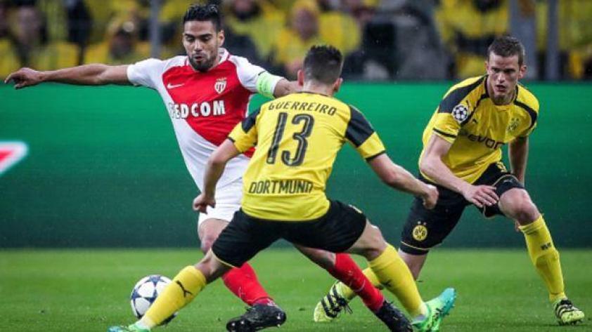 Mónaco por el pase a semis antes Borussia Dortmund