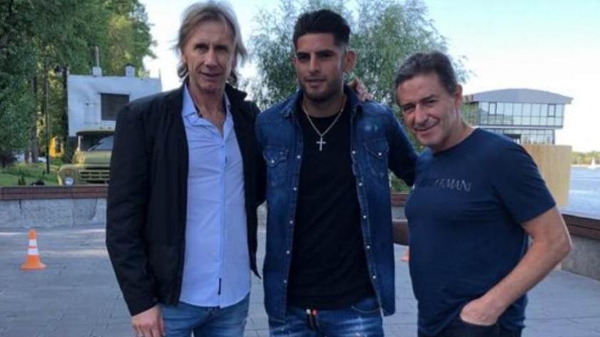 Selección Peruana: Carlos Zambrano se reunió con Ricardo Gareca y Santín en Ucrania