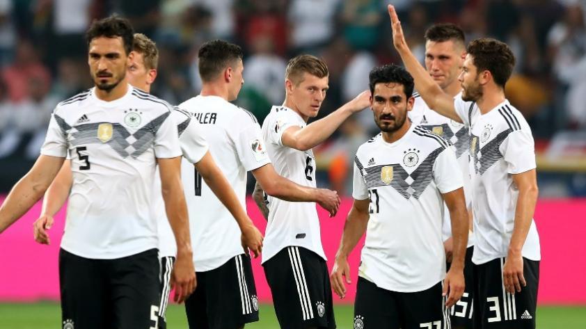 Alemania venció 2-1 a Arabia Saudita en su último amistoso previo a Rusia 2018