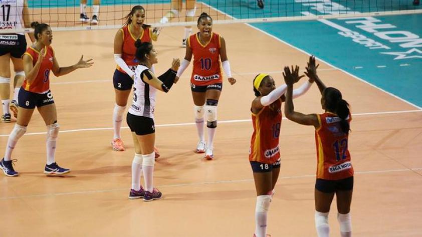 Jaamsa derrotó 3-0 a San Martín en la primera final de la LNSVF