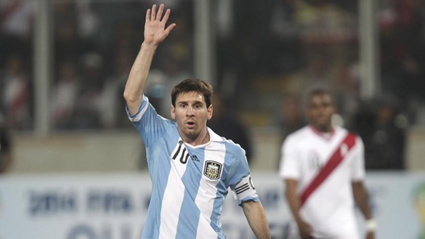 La FIFA levantó el castigo a Messi y juega ante Perú