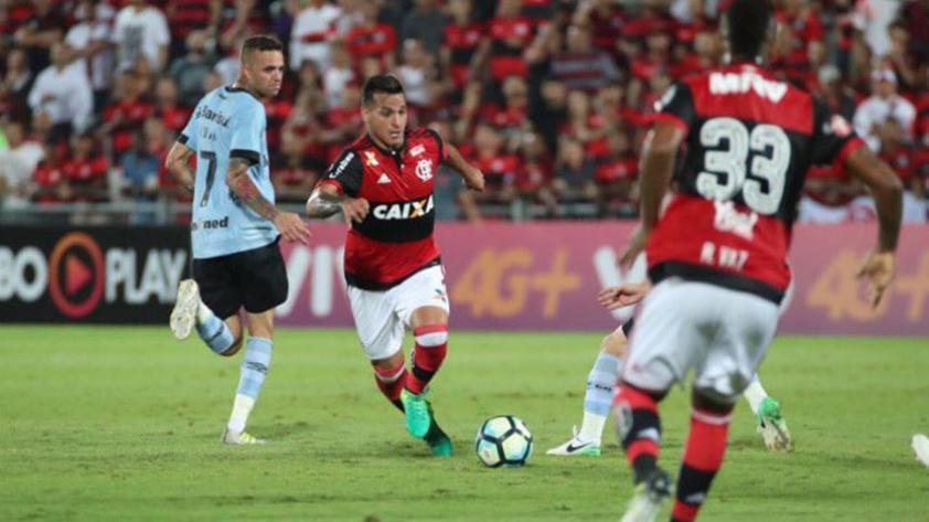 Flamengo cayó en casa sin Guerrero