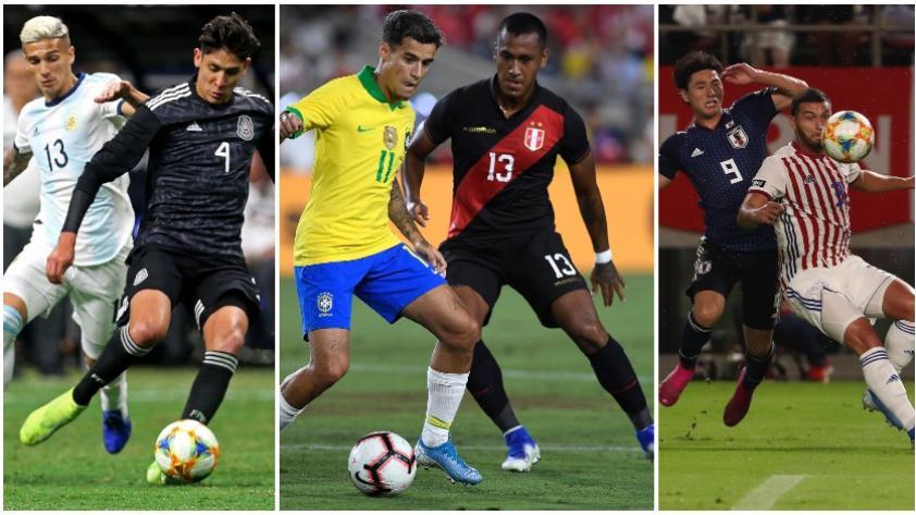 Así quedaron las demás selecciones sudamericanas en sus partidos de esta fecha doble de amistosos