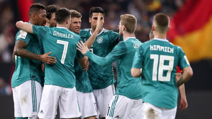 Selección alemana presenta su lista preliminar para Rusia 2018
