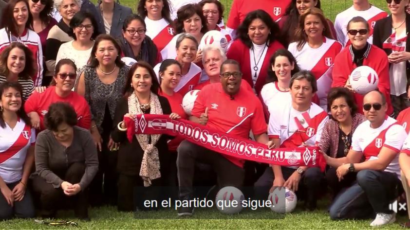 (VIDEO) Embajada de EE.UU. en Perú envía mensaje de apoyo a la Selección Peruana