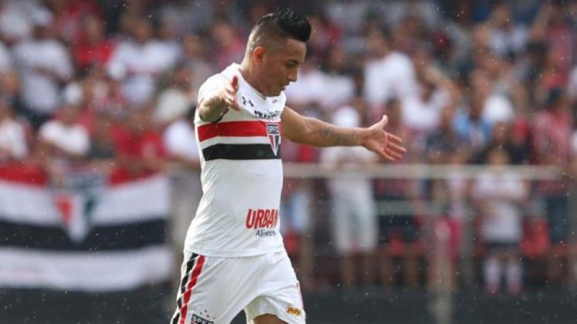 (VIDEO) Inició la jugada y él la finalizó: Christian Cueva anotó golazo con Sao Paulo
