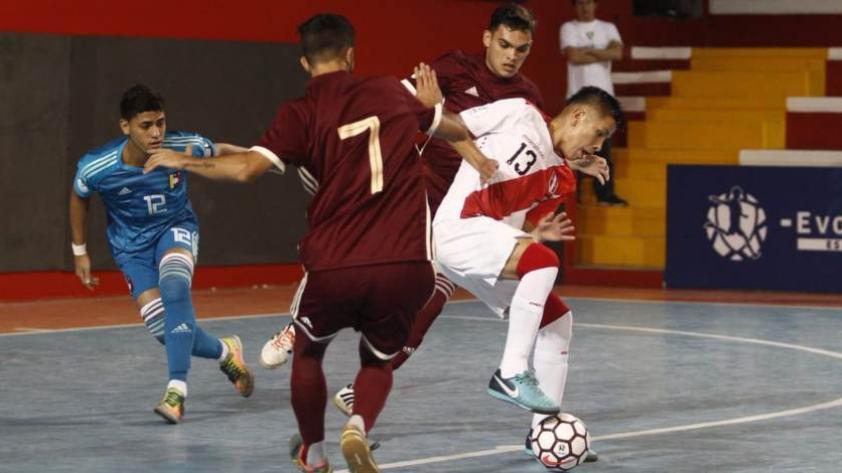 Perú no pudo con Venezuela en el Sudamericano Sub-20 de Futsal ... 3446334600c7e