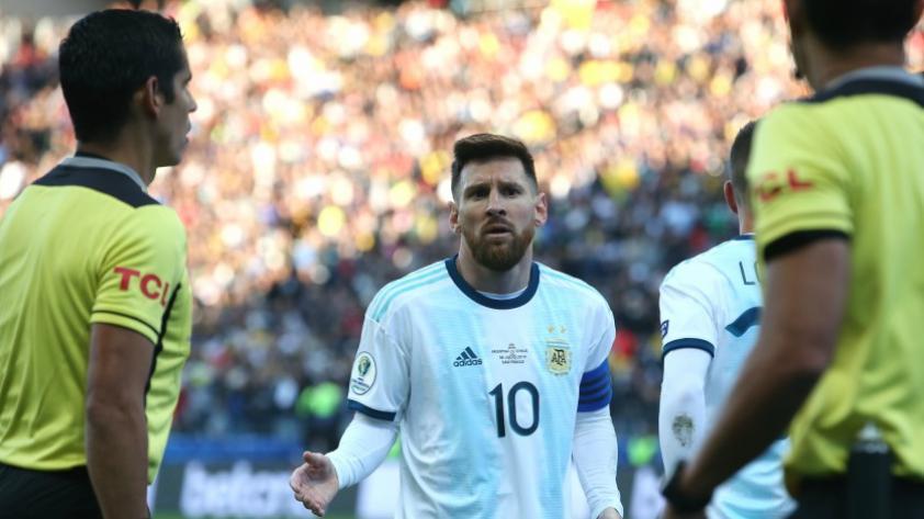 No le aguantan nada: Messi sería suspendido y multado por la CONMEBOL debido a sus duras acusaciones