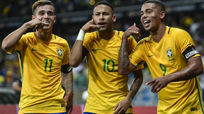 Neymar comanda la convocatoria de Brasil para la fecha doble de las Clasificatorias