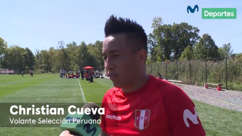 Selección Peruana: Christian Cueva y su preparación previo al duelo ante Ecuador (VIDEO)